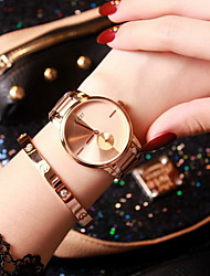 Women's Fashion Watch Casual Watch Quartz Japanese Quartz Stainless Steel Band Rose Gold