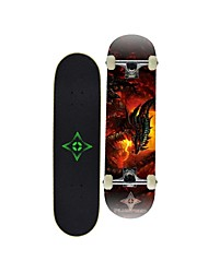 "Skateboard 31""(78.7*20CM)  Canada 9-ply maple deck Carbon Steel ABEC-9 High Speed bearings Wheels 58x32mm"