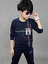 Boy's Rayon Clothing Set,Spring / Fall Print