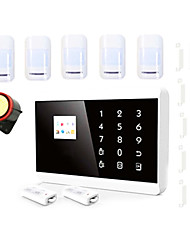 LCD Touch Pstn Gsm Alarm System With Ios App Android Control For Alarme Home Security