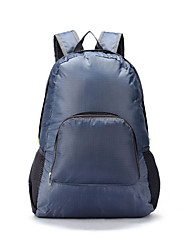 Unisex Polyester Casual Backpack Blue / Green / Gray / Black / Fuchsia