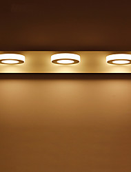9W LED Bathroom Lighting,Modern/Contemporary LED Integrated Metal