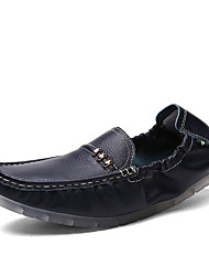 Men's Shoes Cowhide Wedding / Office & Career / Party & Evening / Dress / Casual Flats / Clogs & MulesWedding / Offi