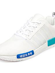 Homme-Sport-Bleu / Rouge / Blanc / Gris-Talon Plat-ConfortTulle