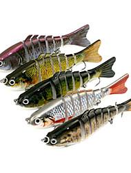"""5pcs pc Esca Esche rigide g/Oncia,10CM mm/4"""" pollice,Plastica dura Pesca con esca"""