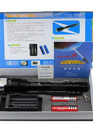 Super Long-Range LED Flashlight Set