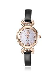 2016 femmes nobles romantique or rose zircone cubique luxe montre