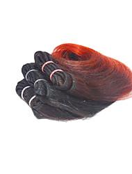 4 Stück Wellen Menschliches Haar Webarten Brasilianisches Haar Menschliches Haar Webarten Wellen