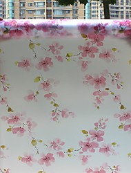 Country Beautiful Floral Pattern Window Film