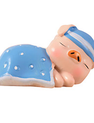 2pcs/set Cute Pig for  Home Decoration
