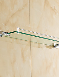 Bathroom Shelf / Mirror Polished / Wall Mounted /60*10*10 /Brass /Contemporary /60 10 1.693