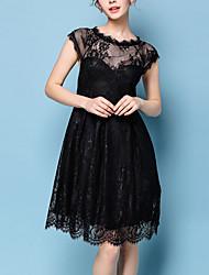 Women's Party/Cocktail Vintage Lace / Little Black Dress