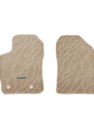 Car Carpet Green Velveteen Jacquard Carpet Flexibility Durability Wear Waterproof