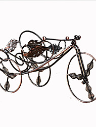 Bicycle Shape Cast Iron Wine Rack
