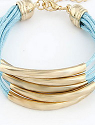 Fabric Wrap Multilayer Bracelet