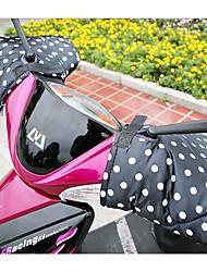Electric Car Battery Motorcycle Gloves Waterproof Winter Warm Fluff Sets