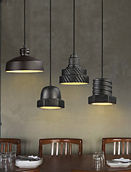 New Modern Contemporary  Decorative Design Ceramic Ceiling Light/ Dinning Room Bar Cafe Chandelier, Black& White