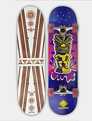 """Skateboard 31""""(78.7CM)  Chinese 9-ply maple deck ABEC-3 High Speed bearings Wheels 58x32mm Hot Stamping Process Design"""