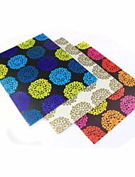 Bumps Flower Set of Portfolio Booklet Cute Decoration Lovely School/Business/Multifunction/Art Supplies/Painting Folders