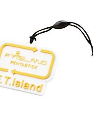 FTIsland logo marque la poussière de téléphone bouchon