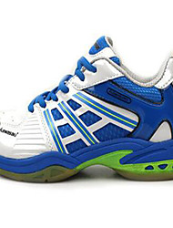 Men's Athletic Shoes PU Lace-up Blue Badminton
