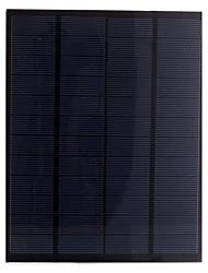 célula painel solar 5.5W 12v pet laminado silício policristalino solar para DIY (sw5512)