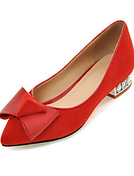 Women's Shoes  Spring / Summer / Fall Comfort / Pointed Toe Flats Office & Career / Dress / Casual Flat Heel Bowknot
