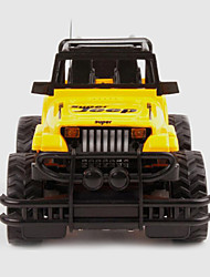 Buggy (Off-road) Other Hummer 1:15 Brushless Electric RC Car Red / Yellow Unassembled Kit