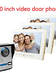 10 Inch Large Screen HD 700  Video Intercom Doorbell On A Villa Three