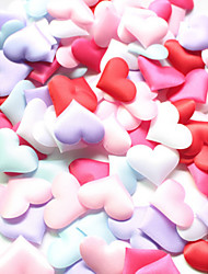 Set of 100  3.5*3.5cm Heart Shape Flower Petals Confetti for Wedding Decoration