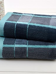 """1 Piece Full Cotton Hand Towel 29""""by 14"""" Plaid Pattern MultiColor Super Soft"""