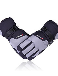 Ski Gloves In Winter With Warm Thickened Waterproof Villi Cotton Gloves For Electric Vehicle And Motorcycle Gloves