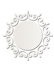 Miroir Stickers muraux Stickers muraux 3D / Miroirs Muraux Autocollants Stickers muraux décoratifs,PVC MatérielLavable / Amovible /