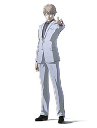 Inspired by Ajin Tosaki Anime Cosplay Costumes Cosplay Suits Solid White Long Sleeve Coat / Shirt / Pants / Tie