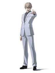Inspiriert von Ajin Tosaki Anime Cosplay Kostüme Cosplay Kostüme einfarbig Weiß Lange Ärmel Mantel / Shirt / Hosen / Krawatte