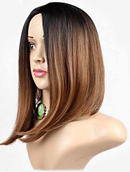 монолитным парики Парики для женщин Коричневый Карнавальные парики Косплей парики