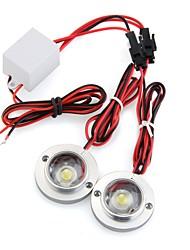 voiture 2 conduit stroboscopique ampoule urgence lumière avertissement éclair dc 12v 5w + contrôleur