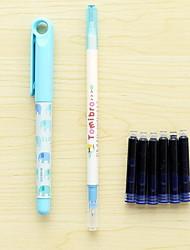 apagável em tinta sac prática caneta caneta de caligrafia