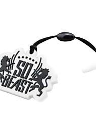 la poussière de téléphone plug logo de la marque de la bête
