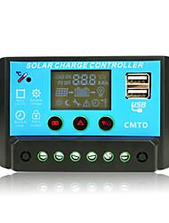 régulateur de charge solaire cmtd-A2410 12v / 24v 10a