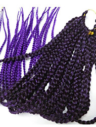 Box плетенки Спиральные плетенки Наращивание волос 24 inch Kanekalon 20 нитка 100g грамм косы волос