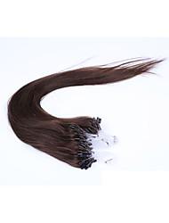 1pc / lot 22inch / 55cm multi gerade Mikro-Ring Haarverlängerung grade5a Menschenhaarverlängerung 100s / Packung 1 g / s
