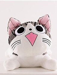 Creative Plush Toy Cat Doll Car Home Decoration Gift 20cm Round Eyes