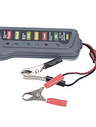 New 12V Auto Car Battery Alternator Load 6 LED Light Battery Tester Digital