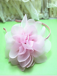 Girls Hair Accessories,Summer / Winter / All Seasons Chiffon / Cotton Pink / Purple / White