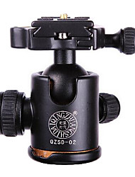 qingzhuangshidai material de liga de alumínio de tirar o peso da cabeça cradle câmera 6-10kg