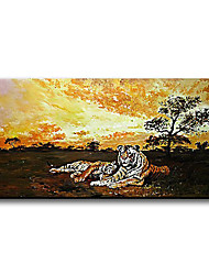 Hand Painted Oil Painting with Frame
