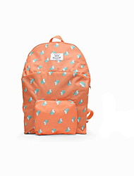 Unisex Nylon Casual / Outdoor Backpack Pink / Blue / Orange / Gray
