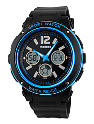 Fashion Trend Waterproof Dual Display Electronic Pointer Outdoor Sports Watch Neutral