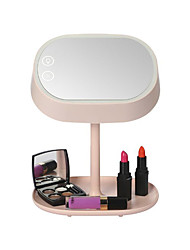 Mart Lighted Makeup Vanity Mirror with Table Lamp for Bedroom Home Decor Mint